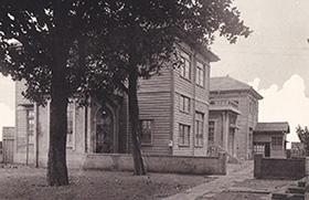1935年 西中町仮校舎